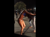 #Ratchet Stripper Fight! Fight naked! Ladies fight too!