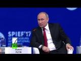 Путин на ПМЭФ: Сам придурок, а кричит, что во всём евреи виноваты