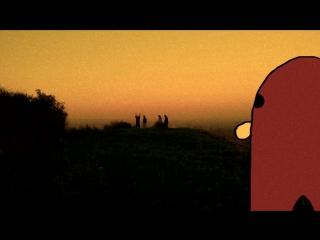 gondola смотрит на хачей в дали под песню из валькин деда, ну та где ниггер Ли в конце умирает