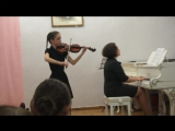 Анастасия Верещагина. М.Брух, Концерт №1 g-moll, 1 часть, 11.05.17