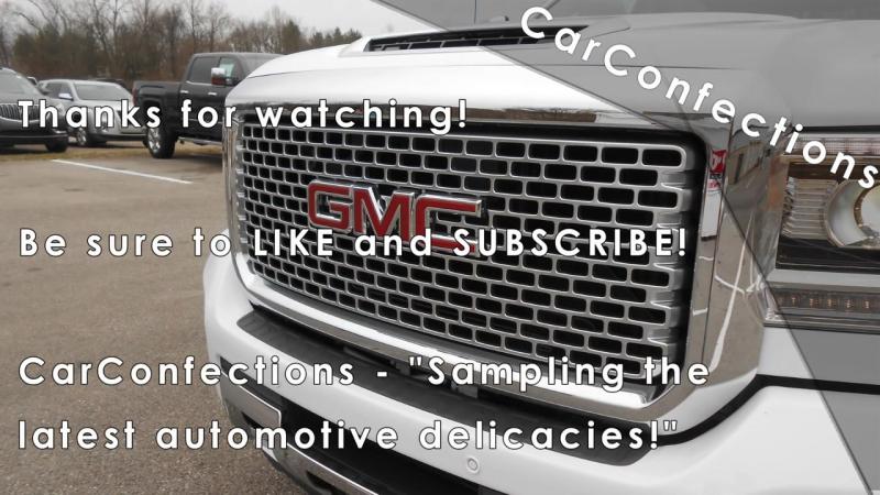 2017 GMC Sierra 2500HD _ 3500HD_ Full Review _ SLE, SLT, Denali Duramax Diesel