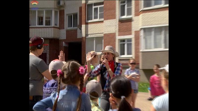 Ул. Барыбина 16 в г.Тосно на время окунулась в мир дикого запада