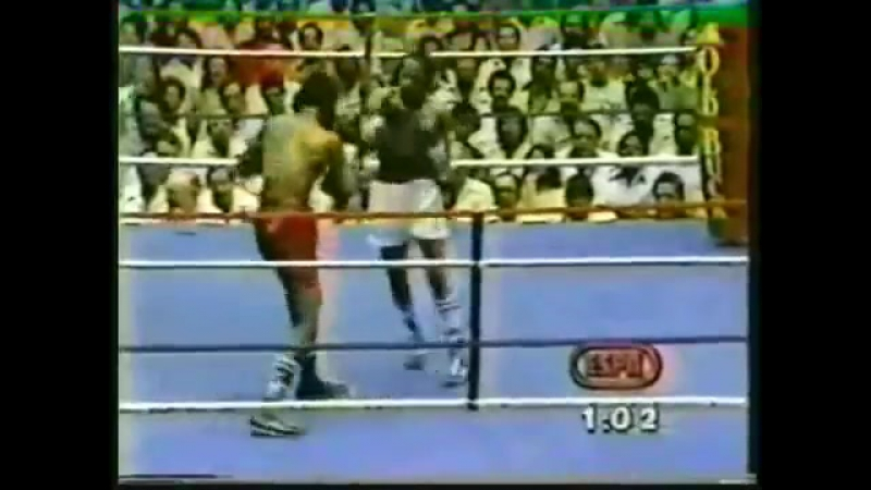 1981-12-05 Eusebio Pedroza vs Bashew Sibaca (WBA World featherweight title)