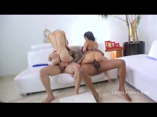 LegalPorno - Megan Rain & Jenn Stefani intense anal fucking (2016/HD)