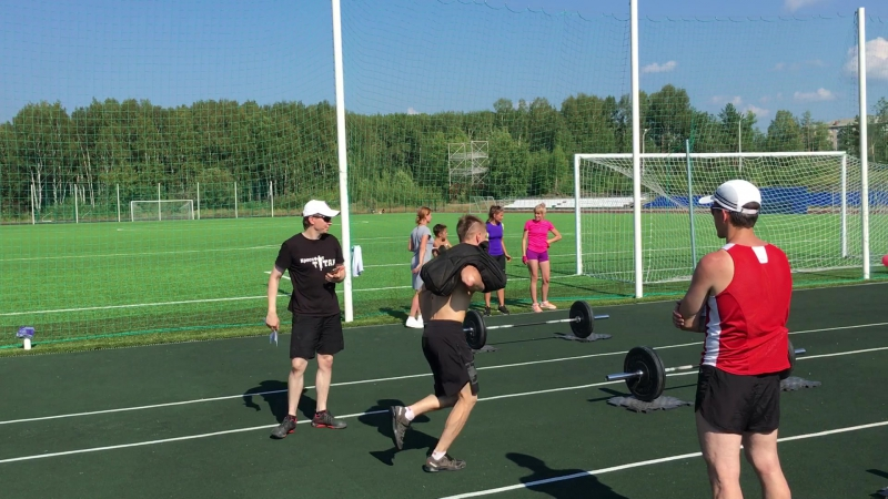 турнир по кроссфиту в честь дня физкультурника 13.08.2016г
