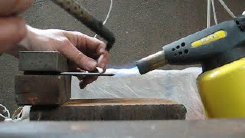 Как припаять сталь и латунь