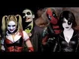 Top Action Awesome Sci-fi Compilation- Deadpool vs Joker vs Batman vs Wolverine