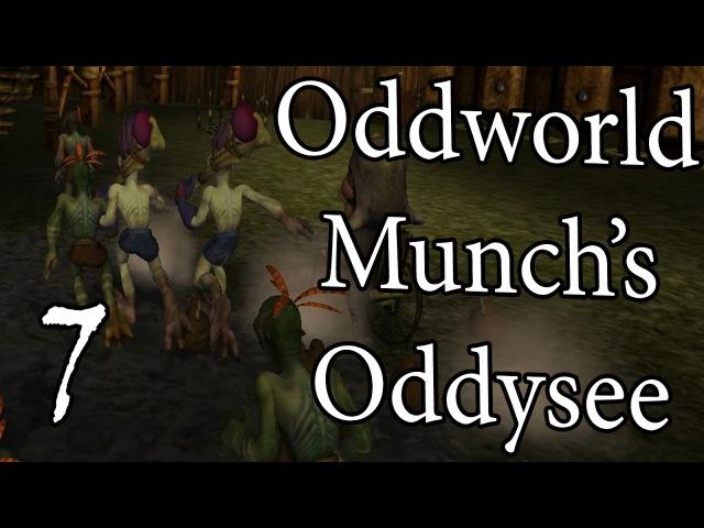 ДЕРЕВНЯ МУДОКОНОВ! =walkthrough let's play= Oddworld: Munch's Oddysee. Part 7 (Полное прохождение)