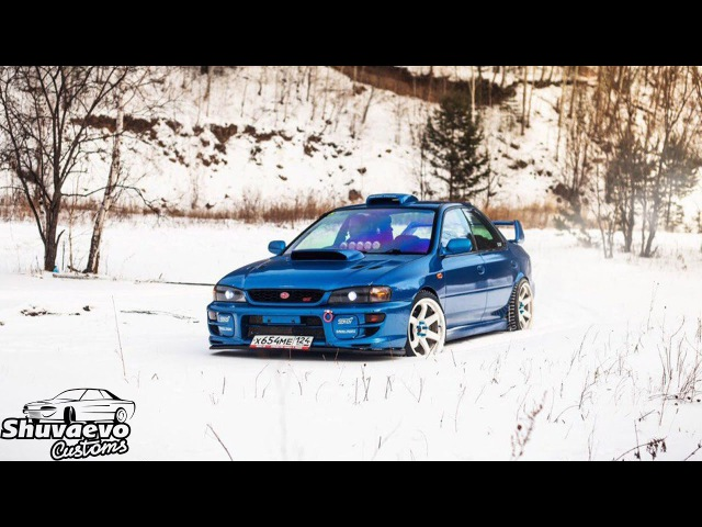 Subaru Impreza wrx sti typera - тизер (дрифт, крэш)