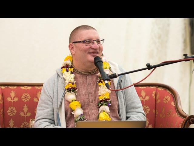 Лекция ЕМ Патита Паваны прабху на праздновании Гаурапурнимы 2017 в Екатеринбурге