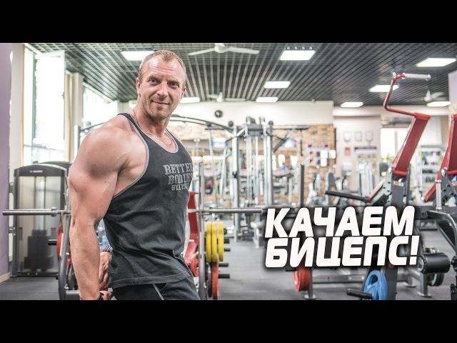 Точечное упражнение на мышцы бицепса [Забытые упражнения]