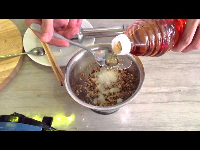 Как приготовить орехово-кунжутный соус