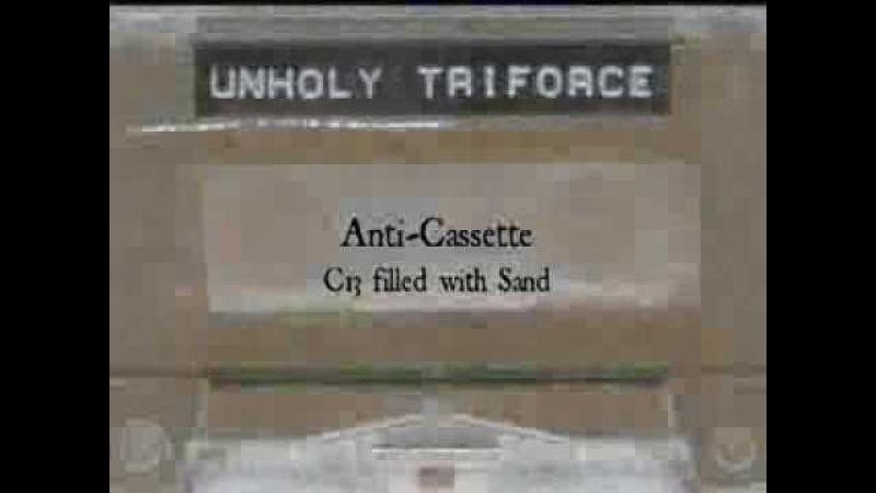 AAX-013 : Unholy Triforce - Sandin' Yr Vagina (anti-cassette promo)