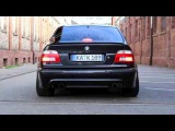 BMW M5 E39 vs Audi RS6 B5 (C5) vs Mercedes E55 AMG W210 - Acceleration 0-270km/h Exhaust Sound