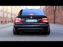 BMW M5 E39 vs Audi RS6 B5 (C5) vs Mercedes E55 AMG W210 - Acceleration 0-270km/h Exhaust Sound