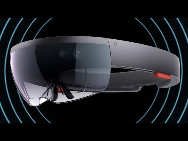 Обзор Microsoft HoloLens: очки дополненной реальности в действии - гаджеты из будущего - Х...
