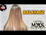 Como hacer Mechas Balayage para morenas, Californianas. Hair Balayage Hair color Tutorial.