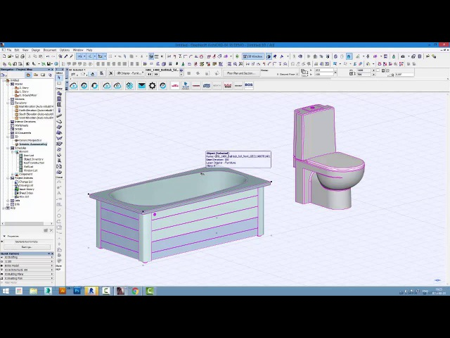 Gustavsberg – Introduction in ArchiCAD