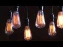 Винтажные лампы накаливания - Ретро лампочки Эдисона