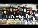 That's what I like - Bruno Mars - Easy Fitness Dance - Warming Up - Choreography - Baile