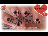 Easy Valentine's Day Nails  How to Paint a Heart