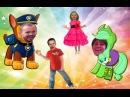 Мистер Макс мисс Кэти семья пальчиков новая серия Щенячий патруль Май литл пони челлендж песня