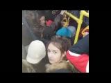 Алматы обычный день в автобусе