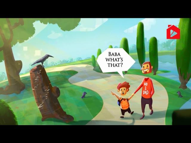 Отец и ворона (отношение к родителям) | Нуман Али Хан