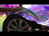 BMW 5 Series install New Rainbow Chrome (Fender)