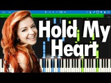 Lindsey Stirling ft. ZZ Ward - Hold My Heart Synthesia piano tutorial