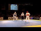 Aaron Cook (GB) v Craig Brown (GB) -80KG Final Taekwondo