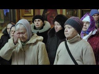 Божественная литургия в храме святых мучениц Веры Надежды Любови и матери их Со ...