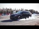 Dodge Caliber SRT4 Mopar racing in Oulu, Finland. 200 km/h
