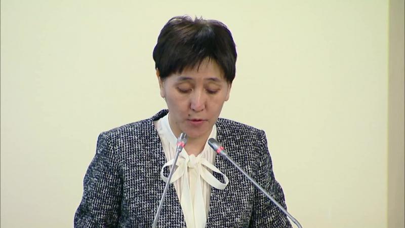 Тамара Дуйсенова о создании рабочих мест в сельской местности в рамках ДКЗ-2020