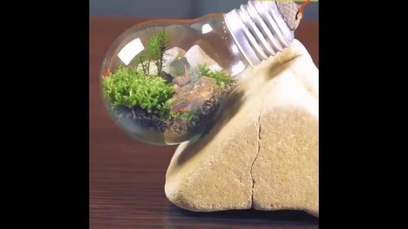 Декор из простой лампочки 💡