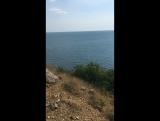 Форос, дикий пляж с нудистами☝??