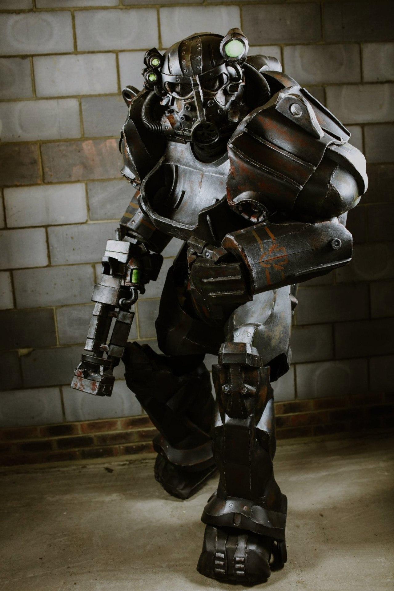 Fallout4 годный косплей брони братства