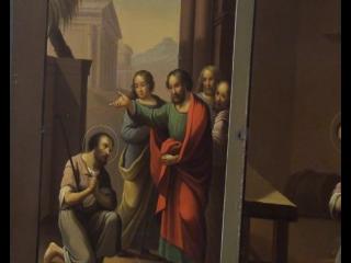 Сегодня был прямой эфир в нашей группе в facebook о пермской иконе святого Алексия, человека Божия.
