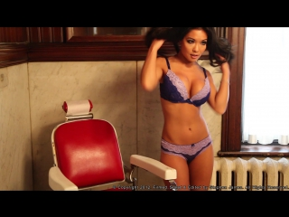 Stephanie ly - victorian mansion lingerie shoot behind the scenes