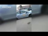 В Казани хулиган проколол колеса автомобиля ДПС и снял это на видео