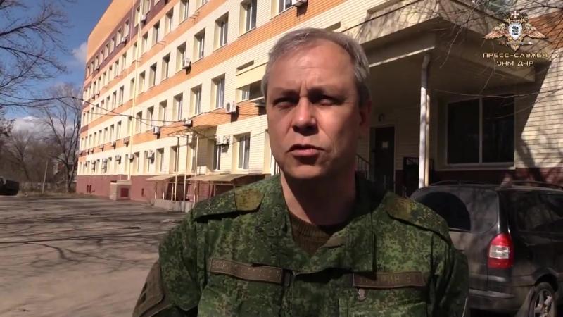 Общественная организация Ни шагу назад совместно с милицией ДНР передали мед.учреждениям Донецка 56 000 систем для переливани