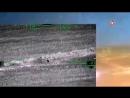 Кадры высокоточных ударов ВКС РФ по террористам в Сирии