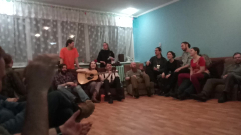 14 Падди (посиделки в холле, Рубикон, 24.02.2017)