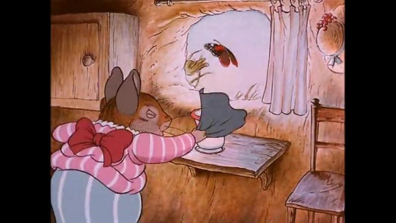 Мир Кролика Питера - 7 - Крольчата Флопси и миссис Титлмаус (1992)