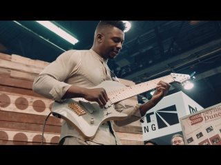 Tosin Abasi (Animals as leaders) - Tempting Time (Seymour Duncan NAMM 2016) HD