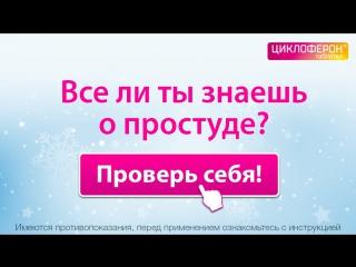 Помоги Анфисе Чеховой сделать умный выбор!