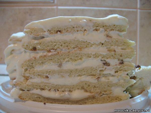 Торт сметанник классический в домашних условиях