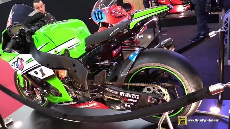 2015 Kawasaki Ninja ZX10R KRT SBK - 2015 Superbike Champin Jonathan Rea 65 Bike