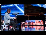 Tokio Myers tinkles the ivories with an edgy twist Auditions Week 3 Britains Got Talent 2017