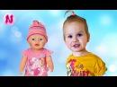 🌸Новая Кукла Беби Бон Эмили Видео Для Детей Ника Как Мама New Baby Born Doll Unboxing